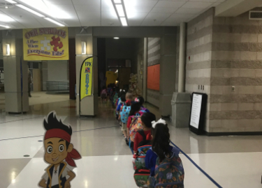 First week of school August 2018