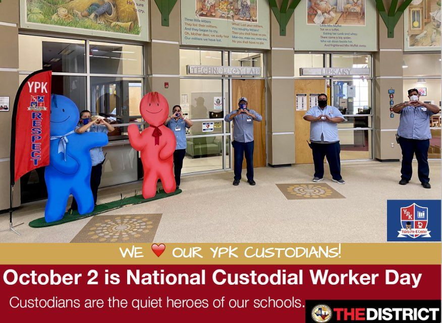Happy National Custodians Day