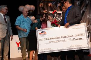 YEF Recipient at Hanks HS