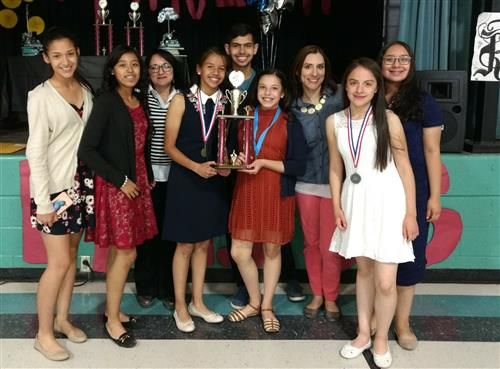 Spanish UIL Champs