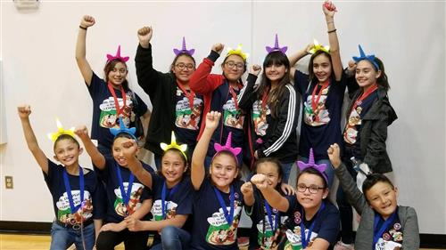 Destination Imagination competition winners