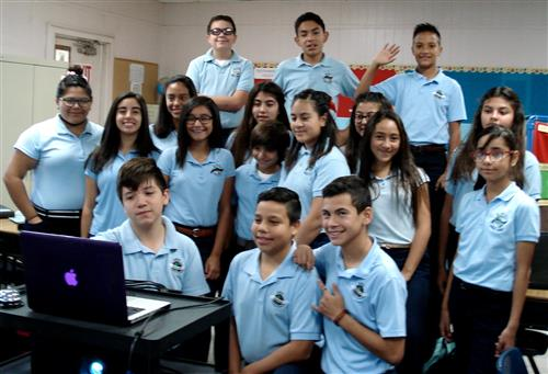 ARCES students Skype with Russian Sister-School