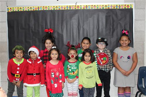 Christmas Dress Up Days