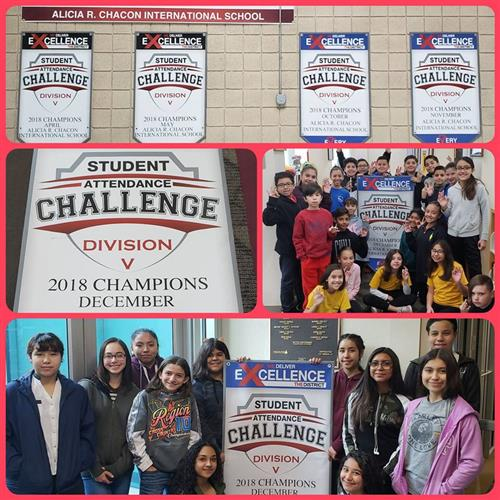 Student Attendance Champs Banners
