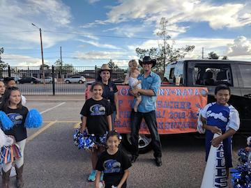 Ascarate Supports Riverside Homecoming Parade