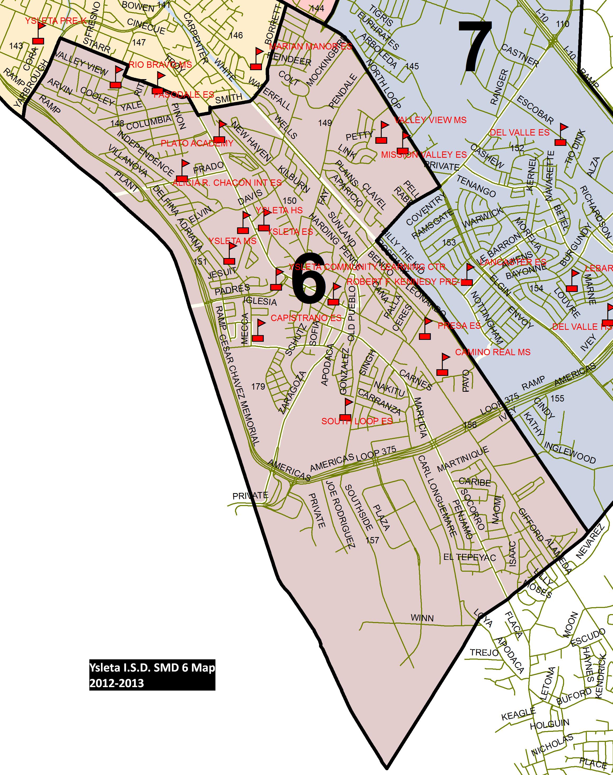 School Board / District Precinct Maps