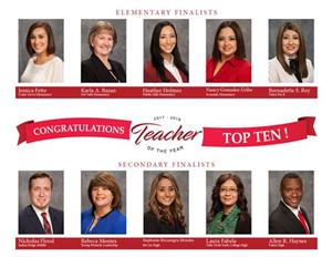 Top Ten Teachers